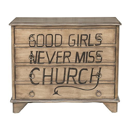 Pulaski Traditional Styled Distressed Birch Four Drawer Accent Storage Eric Church Lyrics chest brown