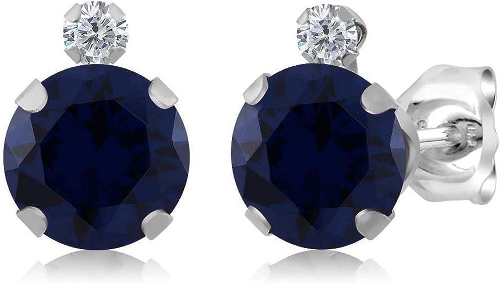 Gem Portland Mall Stone King Sale price 925 Sterling Silver Sapphire White Blue Diamo and