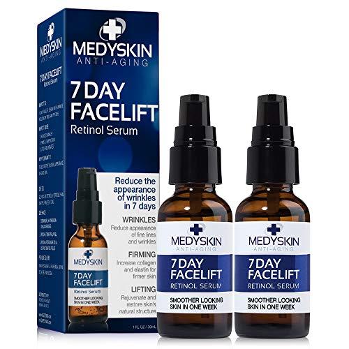 Medyskin Anti-Aging 7 Day Facelift Retinol Serum 2 Pack
