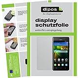 dipos I 6X Schutzfolie matt kompatibel mit Huawei G Play Mini Folie Bildschirmschutzfolie