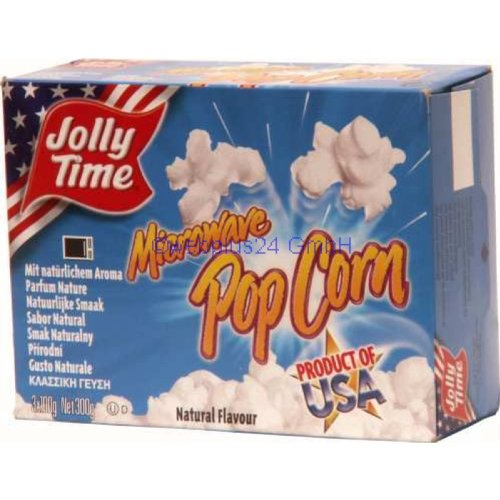 Jolly Time Mikrowellenpopcorn Natural Flavour
