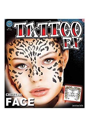 Tinsley Transfers Cheetah, Flesh/Multi, One Size