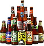 Craft Beer Box - Biertasting - Probierpaket (12 Craft Biere aus USA)