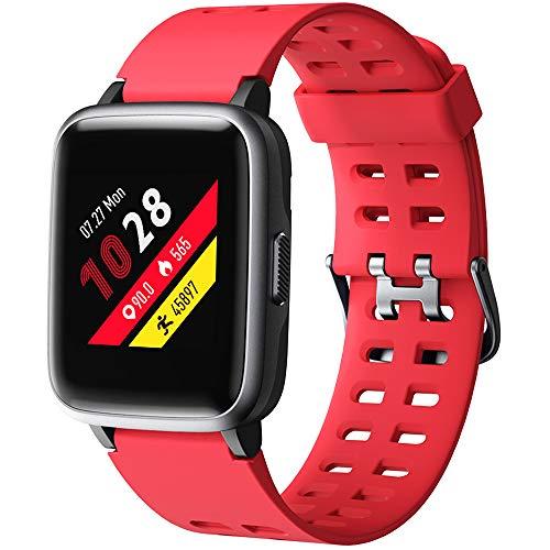 Willful Smartwatch Orologio Fitness Tracker Uomo Donna Sportivo Smart Watch IP68 Cardiofrequenzimetro da Polso Smartband Activity Tracker Contapassi Calorie per Android iOS