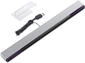 KIMILAR Sostituzione Cablata Infrarossi LED Sensor Bar per Nintendo Wii e Wii U, include Supporto Trasparente