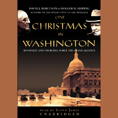 One Christmas in Washington audiobook cover art
