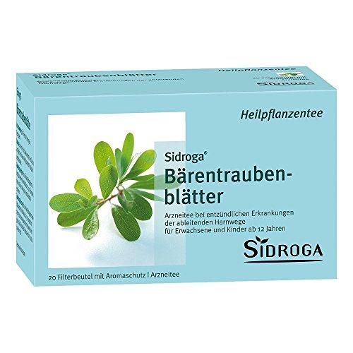 Sidroga Bärentraubenblättertee – 20 Filterbeutel
