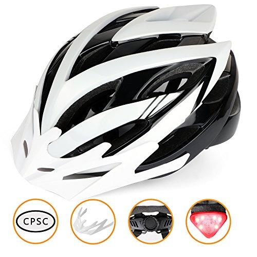 Shinmax Bike Helmet Men/Women, Bicycle Helmet CPSC with LED...
