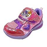 トロピカル~ジュ! プリキュア 5412 子供靴 スニーカー フラッシュスニーカー 女の子 キッズ キャラクター シューズ ピンク18.0cm