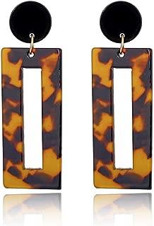 1 Paire Femmes Acrylique Rectangle Géométrique Dangle Boucles d/'oreilles clous Fahion Jewelry