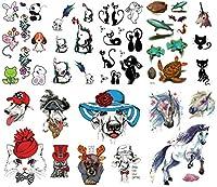 [THE FANTASY (ファンタジー)] タトゥーシール 可愛い 動物 [10種10枚]set181