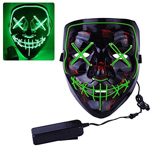 Mascara de la Purga, ZoneYan LED Máscaras...