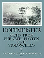 HOFFMEISTER - Trios (6) Op.31 Vol.2: nコ 4 a 6 para 2 Flautas y Violoncello (Partitura/Partes)