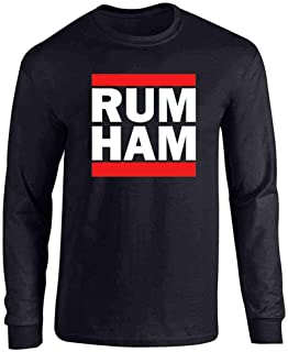Rum Ham Funny Logo Parody Full Long Sleeve Tee T-Shirt