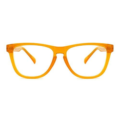 47fe540873e TIJN Chic Retro Eyeglasses for Men Women Oversize Optical Designer Frame