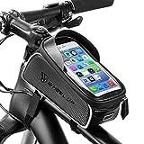 BAONUOR Fahrrad Rahmentasche Fahrrad Handytasche für iPhone 7 Plus/6s Plus/6 Plus/Samsung s7 Edge...