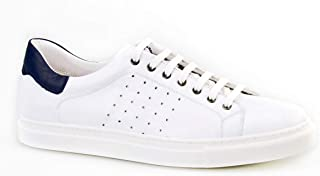 Cabani Bağcıklı Sneaker Erkek Ayakkabı Beyaz Deri