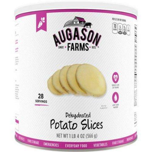 Augason Farms Emergency Food Dehydrated Potato Slices, 20 oz by Augason...