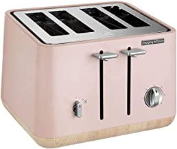 Morphy Richards Aspect 4-Slice Toaster Aspect 4-Slice Toaster, Dusty Pink, 240012