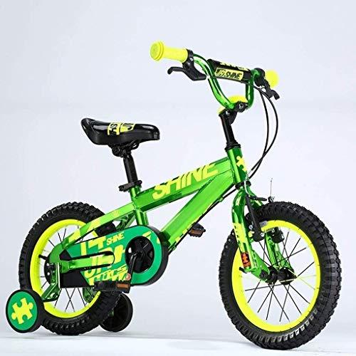 Fahrrad Kinderfahrräder, 2-4 Jahre alt Jungen und Mädchen Bikes, 12 Zoll, for die Höhe 85-105cm (Color : 3)