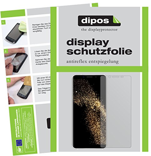 dipos I 6X Schutzfolie matt kompatibel mit HOMTOM S8 Folie Bildschirmschutzfolie