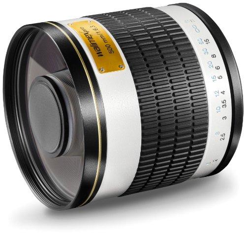 Walimex Pro 19592 - Objetivo para Canon (diámetro: 34 mm, Enfoque Manual) Negro