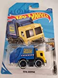 Hot Wheels 2020 HW Metro Total Disposal (Garbage Truck) 55/250, Yellow and Blue