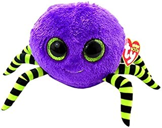 Ty Beanie Boos Crawly Purple And Green Spider by Ty