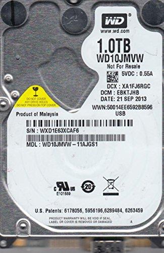 WD10JMVW-11AJGS1, DCM EBKTJHB, Western Digital 1TB USB 2.5 Disco Duro