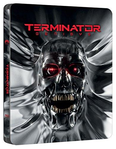 Terminator Genisys Embossed Limited Edition Steelbook / Import / Includes Bonus Disc / Region Free Blu Ray