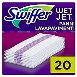 Swiffer WetJet Lavapavimenti Panni Lavapavimenti, 20 Panni, per Swiffer WetJet Scopa Elettrica Senza...