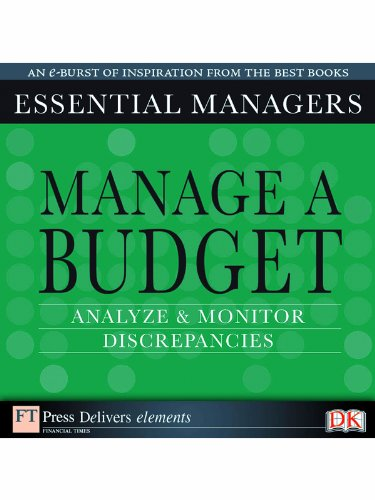 Manage a budget: Analyze and monitor discrepancies (English Edition)