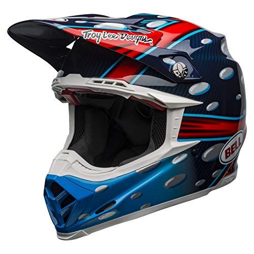 Bell Moto-9 Flex McGrath Replica MX Helmet Large Blue Red Black