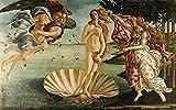 Puzzles Madera Rompecabezas 1500 Piezas El Nacimiento De Venus Sandro Botticelli Muy Desafiante para Adultos Y Adolescentes Casual Tamaño Grande Rompecabezas