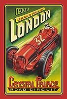 Grand Prix Of London ティンサイン ポスター ン サイン プレート ブリキ看板 ホーム バーために