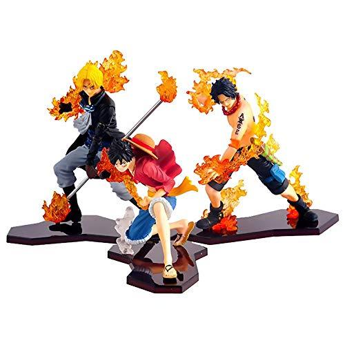 One Piece Action Figure AFFE D Ruffy & Trafalgar Law 20. Jahrestag Edition One Piece Anime Spielzeug Modell Action Figure Kinder