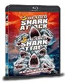 3-HEADED SHARK ATTACK + 5-HEADED SHARK ATTACK (Programa doble: El Ataque del Tiburón de 3 cabezas + El Ataque del Tiburón de 5 cabezas)