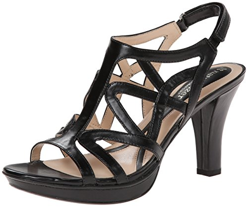 Naturalizer Women's Danya Dress Sandal,Black,7.5 N US