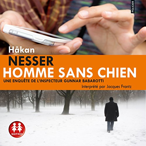 Homme sans chien (Gunnar Barbarotti 1) audiobook cover art