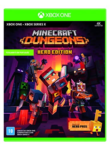Minecraft Dungeons - Hero Edition (Inclui Hero Pass)