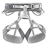 PETZL - Mens SAMA Climbing Harness, Gray, Large