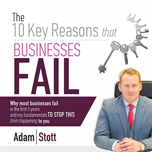 The 10 Key Reasons Why Businesses Fail Titelbild