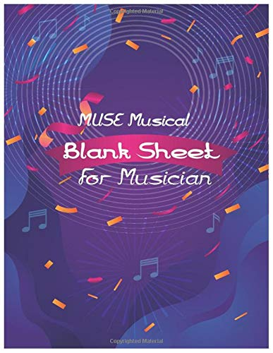 MUSE Musical Blank Sheet Music: Notebook Doodles Peace, Love, and Music: Color & Activity Book (Design Originals).