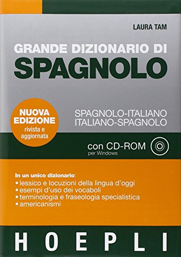 Grande dizionario di spagnolo-italiano, italiano-spagnolo. Con CD-ROM