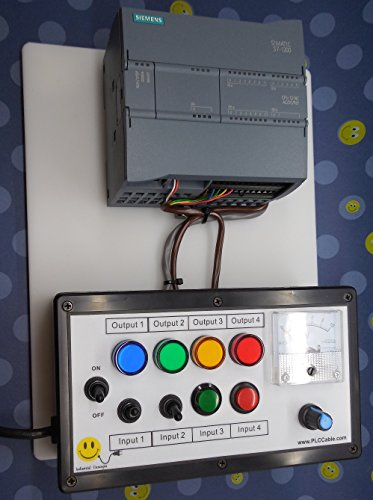 SIEMENS S7 1200 PLC Trainer, ANALOG, Software, Ethernet ~ PLC TRAINING STARTER KIT WITH TIA Portal