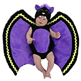 Princess Paradise Baby Deluxe Swaddle Wings, Bat, 0-3 Months
