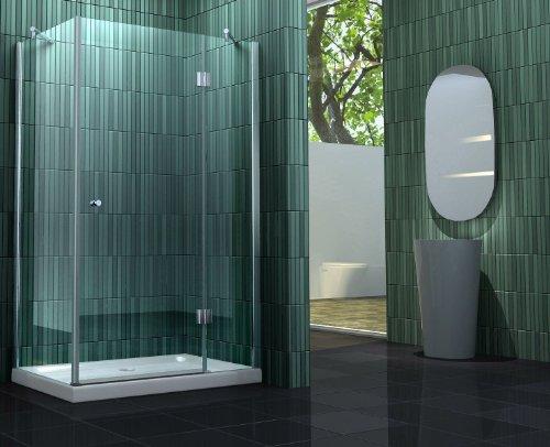 Duschkabine SILL 80 x 80 x 170 cm ohne Duschtasse