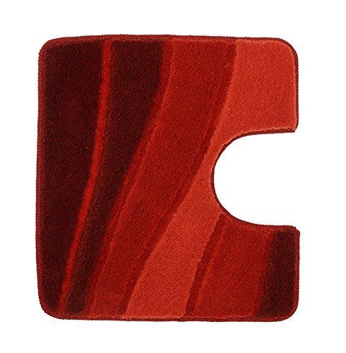 Kleine Wolke WC-Vorleger Ocean rot 55 x 50 cm