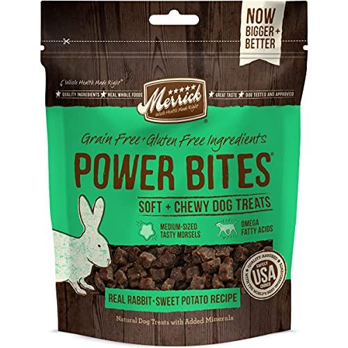 Merrick Power Bites Hundesnacks, real Kaninchen und Sweet Potato Rezept, 170,1. Tasche,...