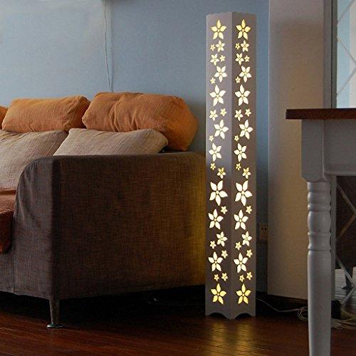 Ywyun Vertical moderne simple lampadaire, salon chinois creative LED lampe de chevet étude plancher lampes à économie d'énergie (Color : B)